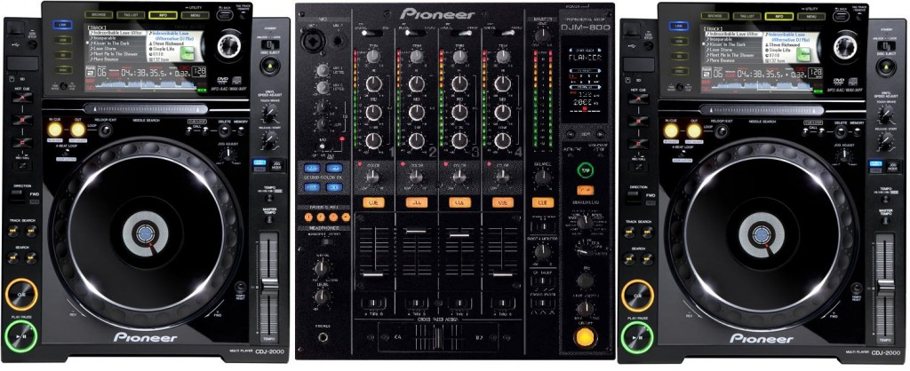 Pioneer CDJ2000 DJM800 Hire