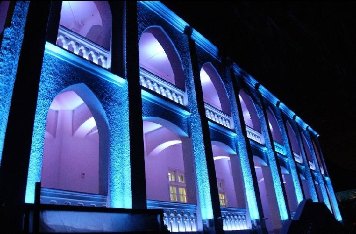 outdoor lighting - building installation