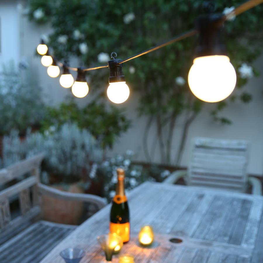 Outdoor Festoon Lights